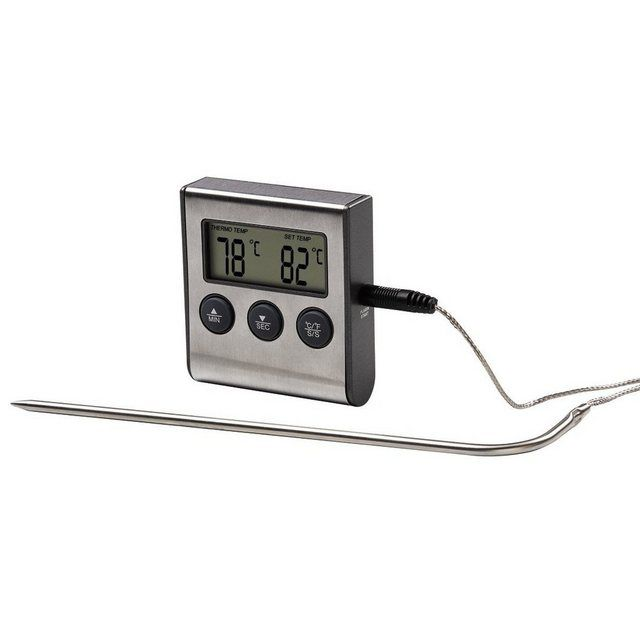 Digitales Bratenthermometer Mit Timer Grillthermometer