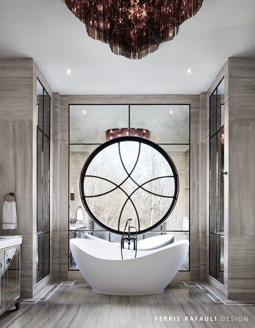 Master bathroom designed by Ferris Rafauli   Baños   Bathrooms   Pinterest   Master bathrooms ...