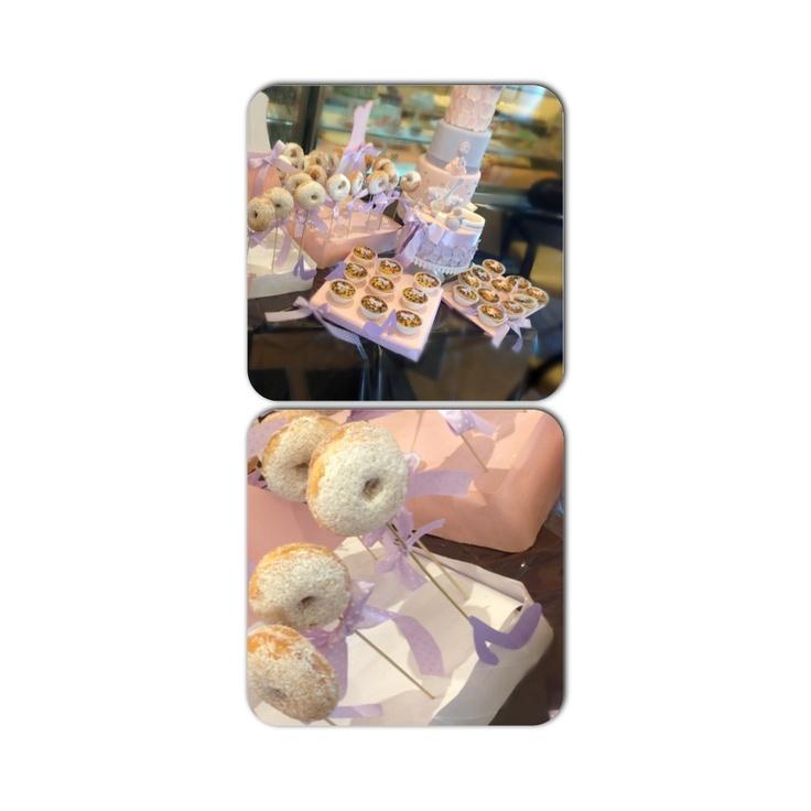 Italian donuts in violetta birthday party!