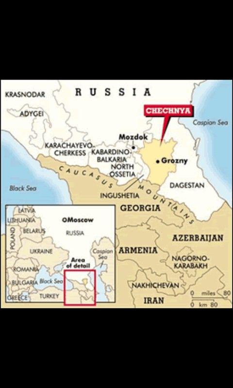 Chechnya  ~~    Caucaz