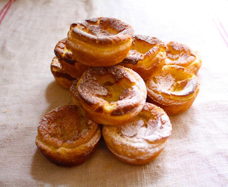 Portugese custard tarts.