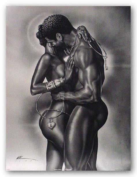 What erotic african sculpture the