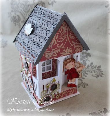 My Craft and Garden Tales: A paper house box with template