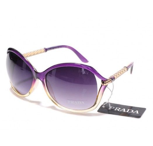 purple prada sunglasses for women