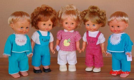 Las muñecas de Salyperla: KIKO Y KIKA Famosa