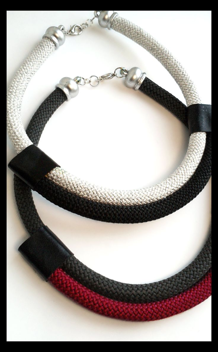 cord necklace #handmade #jewelry #necklace