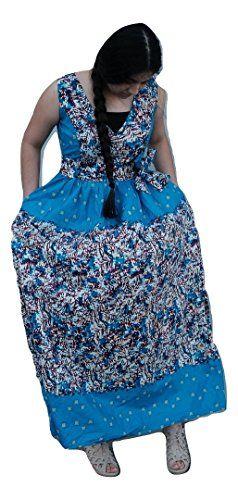 149463ad1aff2b  80 - African ankara batique print women full length maxi dress with multi  color print