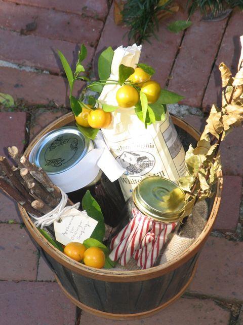 Gift IDEAS - Thoughtful Gift Basket