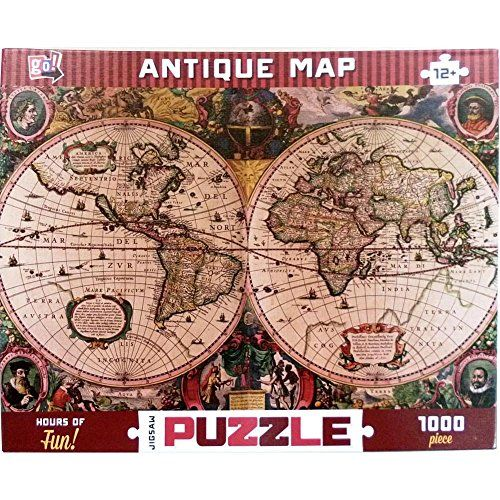 The 17 best images about map jigsaw puzzles on pinterest old world map jigsaw puzzle gumiabroncs Images