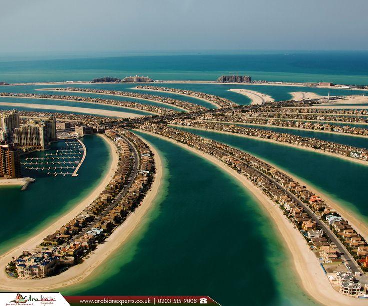Palm Jumeirah, Dubai  |  The Palm Jumeirah is an artificial archipelago in United Arab Emirates.  |  #uae #dubai #palmjumeirah #arabianexperts #travelagentsinuk