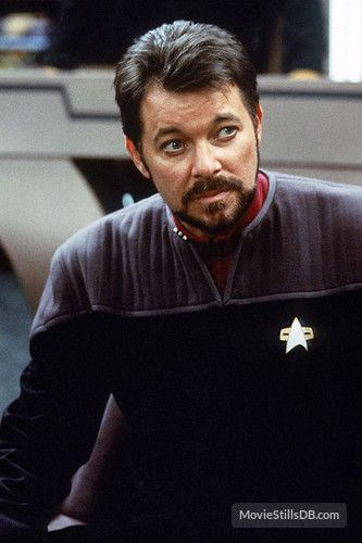 Star Trek: First Contact - Publicity still of Jonathan Frakes