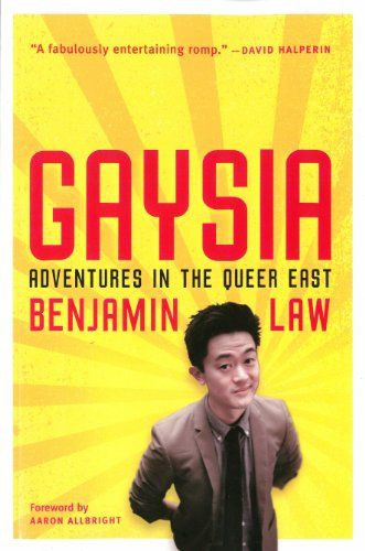 Gaysia: Benjamin Law - Law takes his investigative duties seriously, baring all in Balinese nudist resorts and taking Indian yoga classes designed to cure his homosexuality. The characters he meets – from Tokyo's celebrity drag queens to HIV-positive Burmese sex workers, from Malaysian ex-gay Christian fundamentalists to Thai ladyboy beauty contestants – all teach him something new about being queer in Asia. It's funny, informative, sensitive, and heartbreaking...