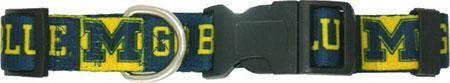 Michigan Wolverines Collar Small