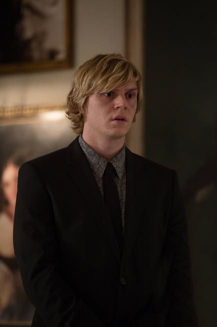 Evan Peters Talks About Threesome, Killing Fiancé Emma Roberts On Screen In 'American Horror Story: Coven'