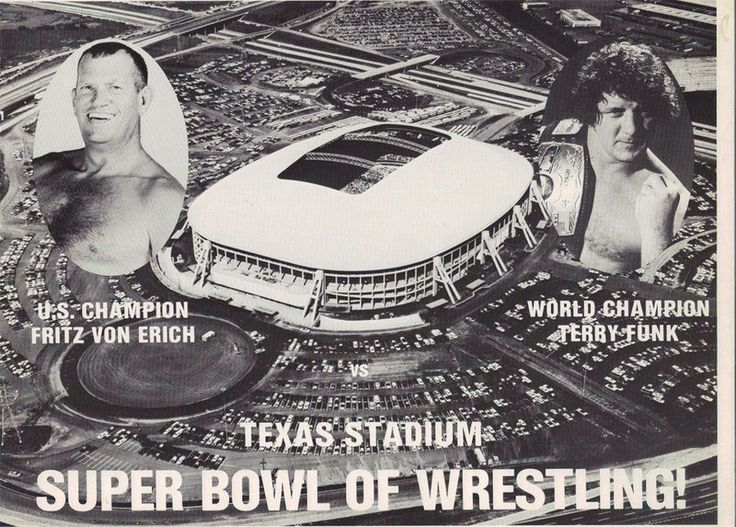 Does anybody remember the Von Erich family?  I must admit the Kevin Von Erich was my favorite.
