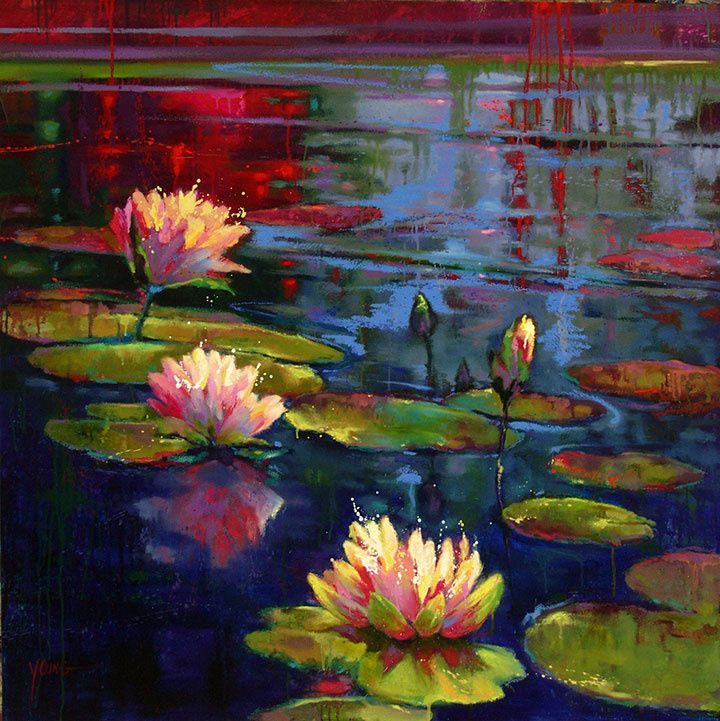 2011 - Donna Young Lily Pads