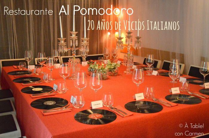 Restaurante Al Pomodoro, 20 Años de Vicios Italianos