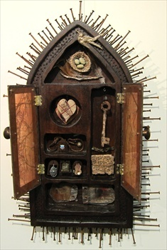 Assemblage by Christine Atkins