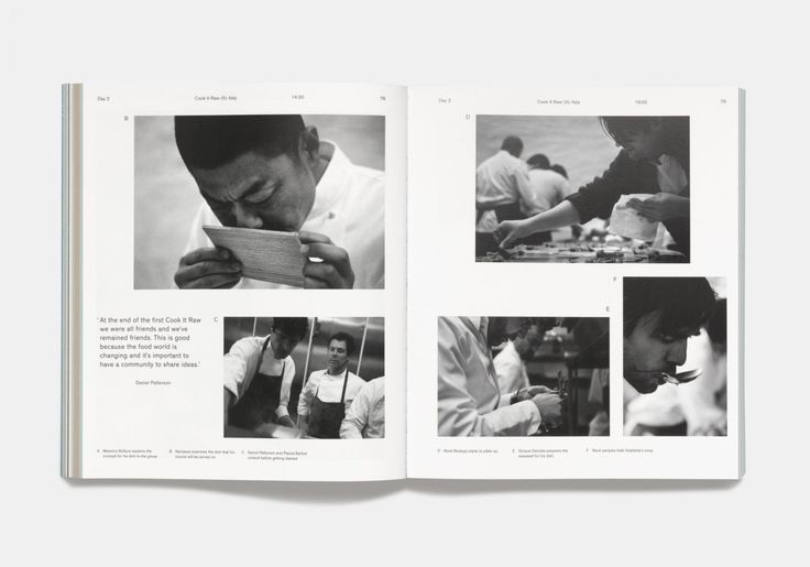 Cook It Raw by Phaidon. Design by Spencer Fenton.