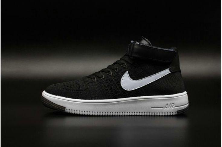 Nike Air Force De 180 Suprématiste Noir Et Blanc