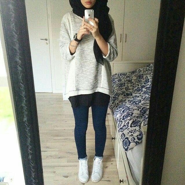 Casual hijabiiii