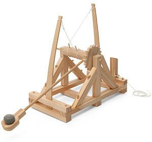 how to make a catapult out of wood