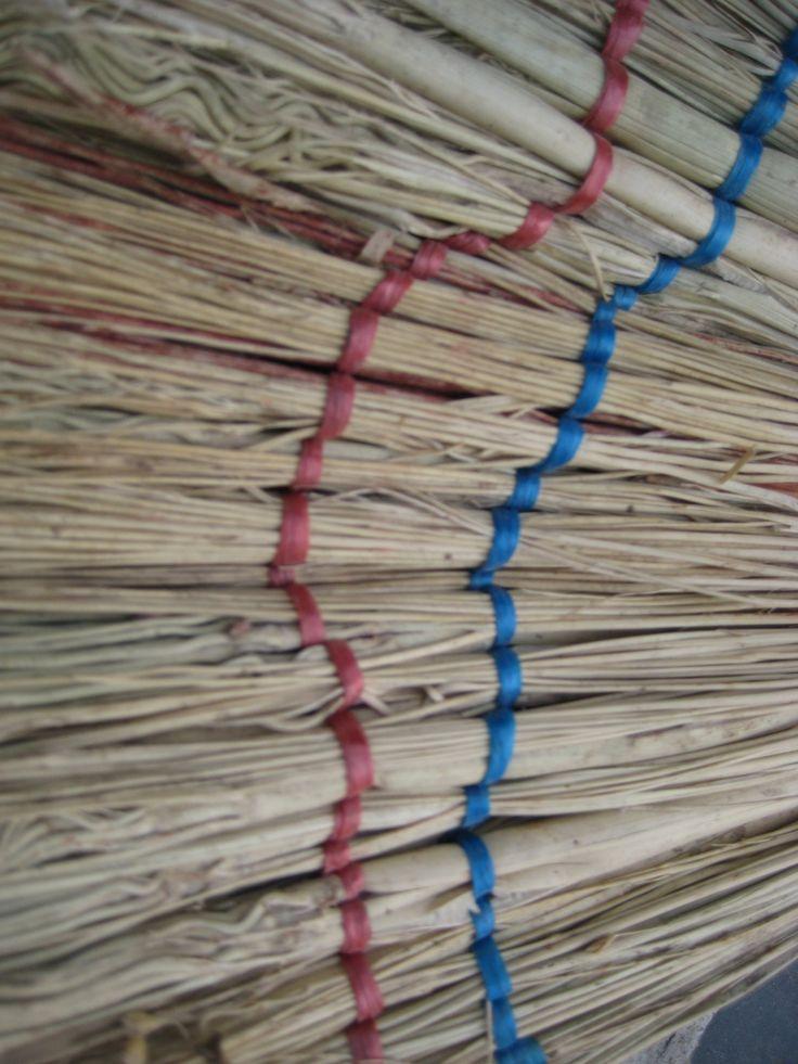 Broom close-up