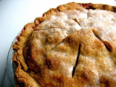Using the sourdough pie crust for moose burger pot pie, but the pie recipes look yummy!