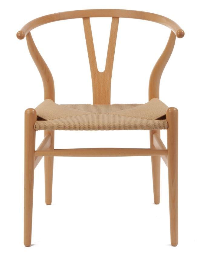 The Matt Blatt Replica Hans Wegner Wishbone Chair Beech/Natural