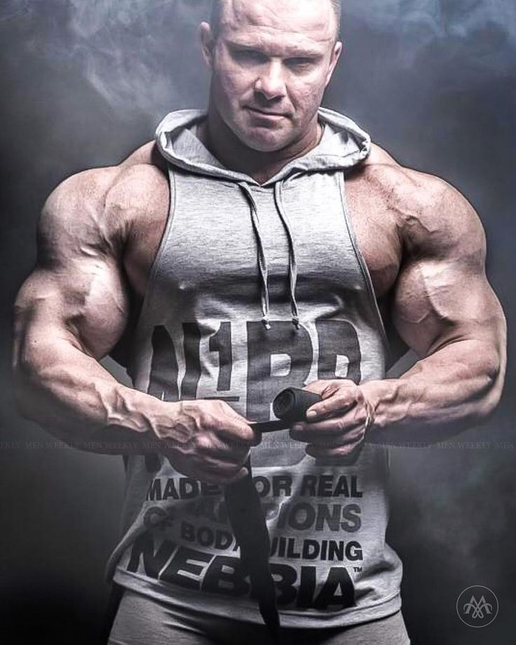 Ronnie Rockel Follow @muscular_worldfor More Pictures Of