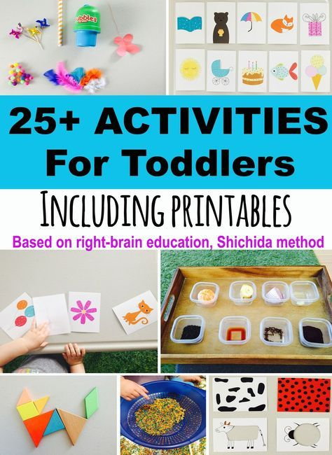 25 Toddler Activities Free Printables Development Promoting