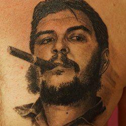 Картинки по запросу че татуировки фото