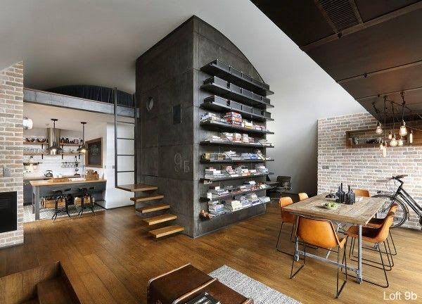 Casinha colorida: Um loft com L maiúsculo