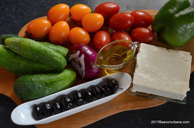 ingrediente salata greceasca traditionala