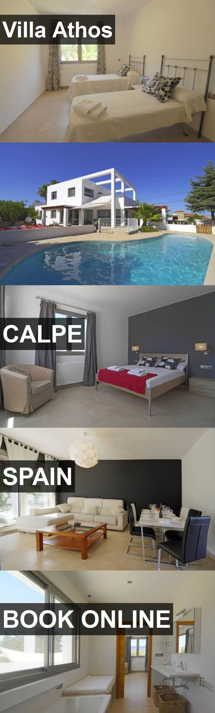 Hotel Villa Athos in Calpe, Spain. For more information, photos, reviews and best prices please follow the link. #Spain #Calpe #travel #vacation #hotel