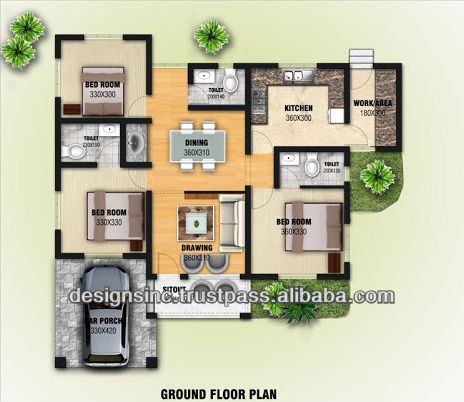 3D designing and Planning for constructions