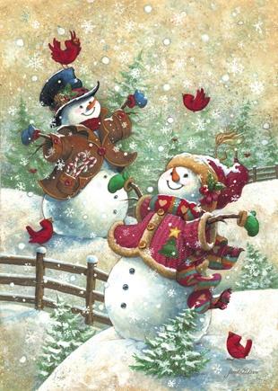 Gotta Love Snow, a 500 piece jigsaw puzzle by Springbok Puzzles.