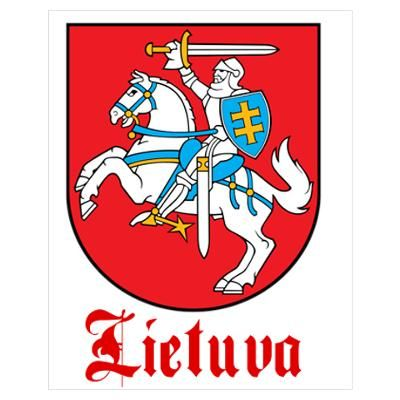 """The official coat-of-arms of Lithuania """"Lietuva"""""""