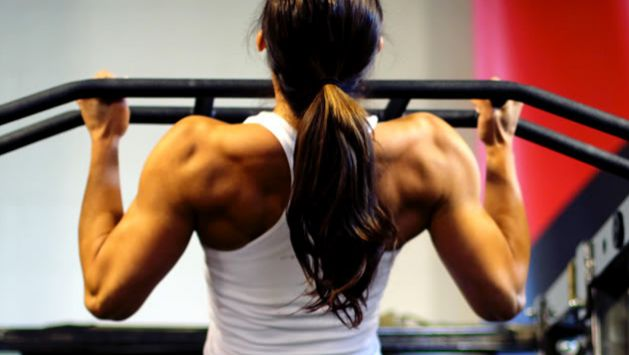 Soon, my back will be like this. Follow link for back training advice!