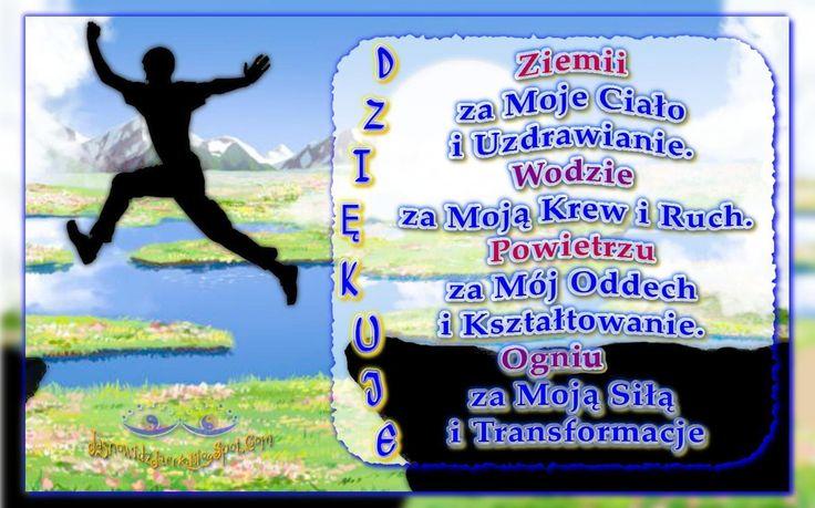 DZIĘKUJE Ziemi Wodzie Powietrzu Ogniu   http://jasnowidzjacek.blogspot.com