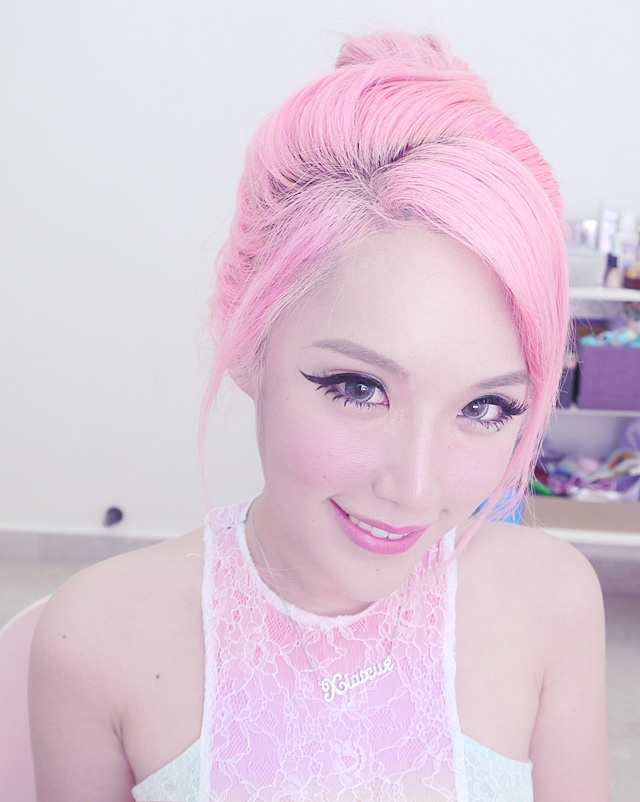 Asians can have pastel hair!! (Still REALLY doubting I