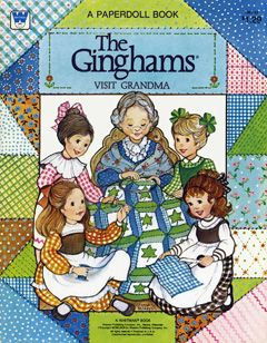The Ginghams were my favorite paper dolls when I was a child.  I am so excited to find these!