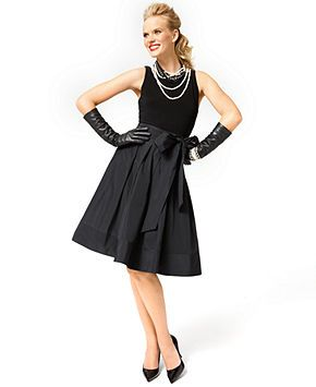 lauren ralph lauren pleated cocktail dress dresses women
