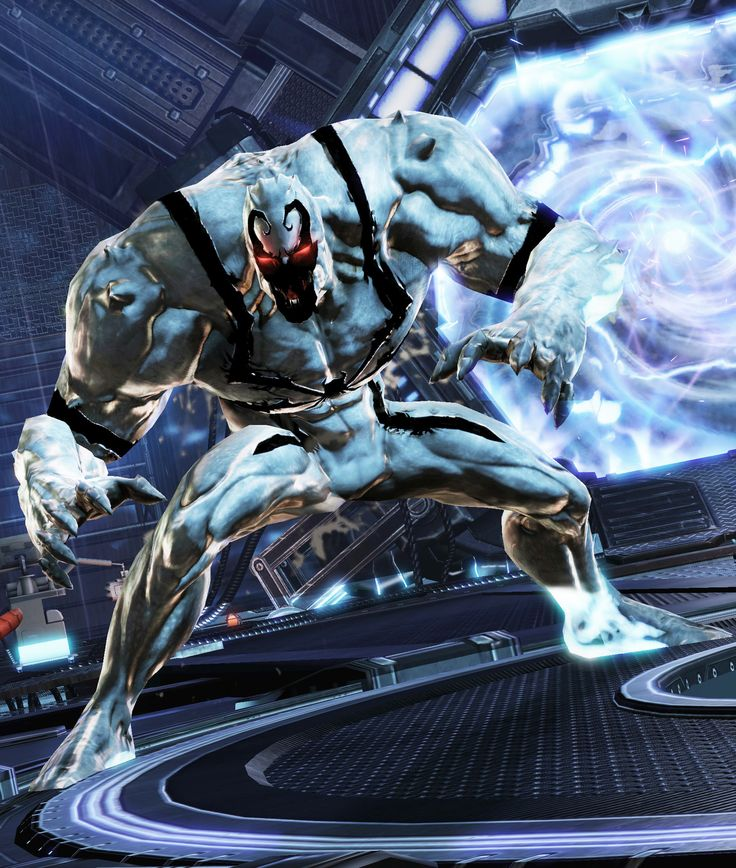 #Anti #Venom #Fan #Art. (Screenshot of Anti-Venom from ...
