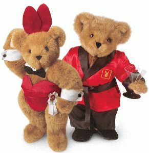 """15"""" Playboy & Playbear Playmate Set Officially Licensed by Playboy Enterprises"""