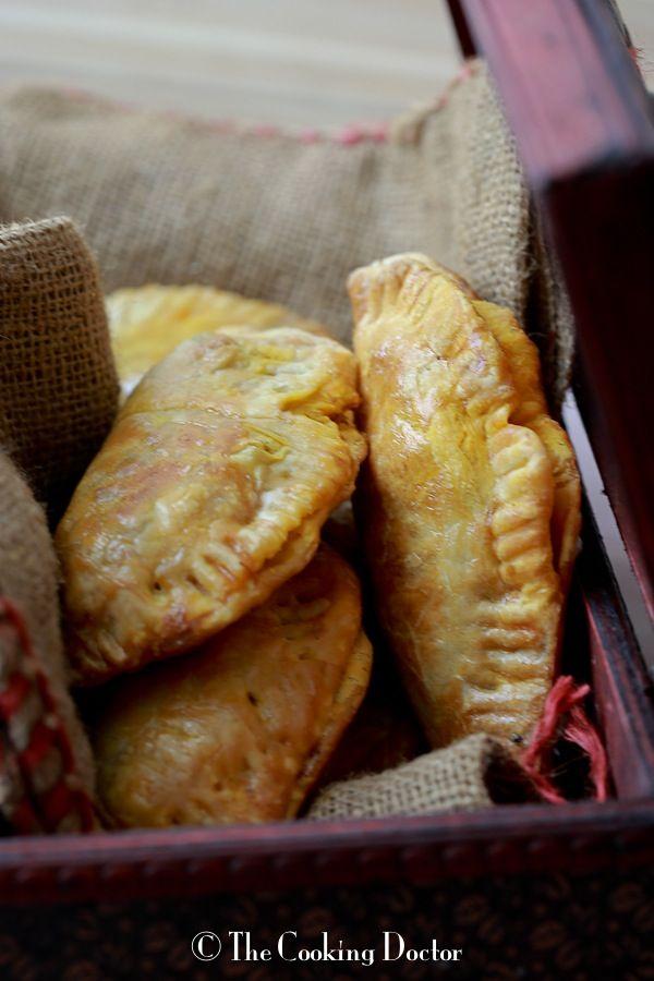 Potato and Egg Empanadas | With A Spin   #appetizer #recipe