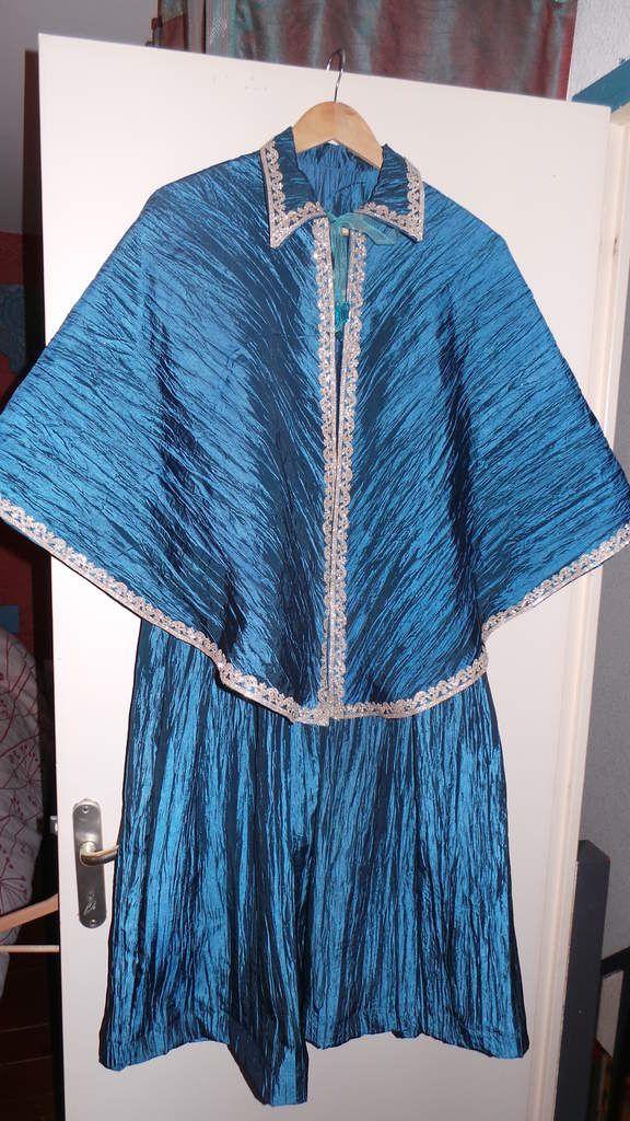 Robe de bal bleue Enfant