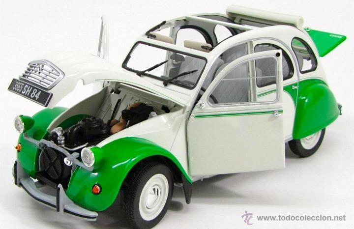 citroen 2 cv dolly 1985 escala 1/18 de norev - Comprar Coches a Escala 1:18 en todocoleccion - 45298005