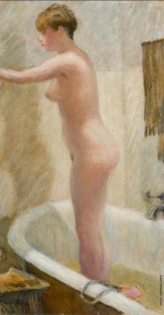 Лебедев В. В. Портрет Ирины Кичаневой, жены художника