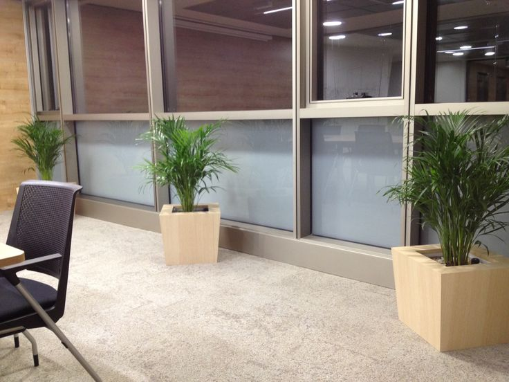 NATURA of natural wood for the meeting rooms on this unique project #hobbyflower #hydroplanter